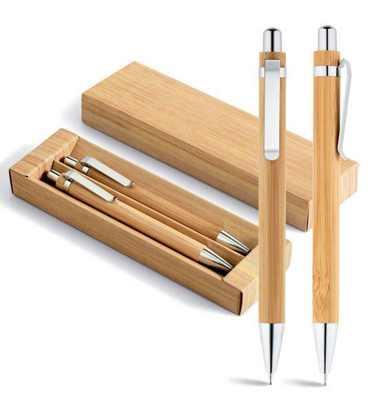 penna matita ecologica in bambù