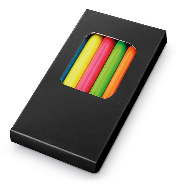 matite colorate fluorescenti