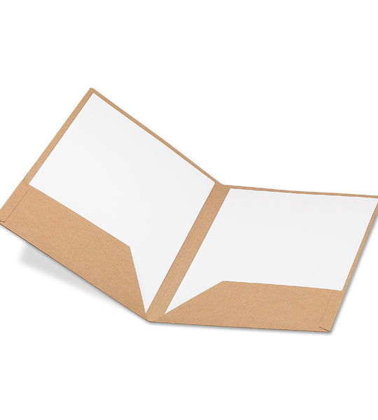 cartellina in carta riciclata