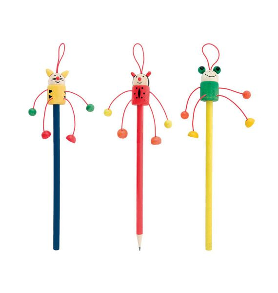 matite in legno multicolor