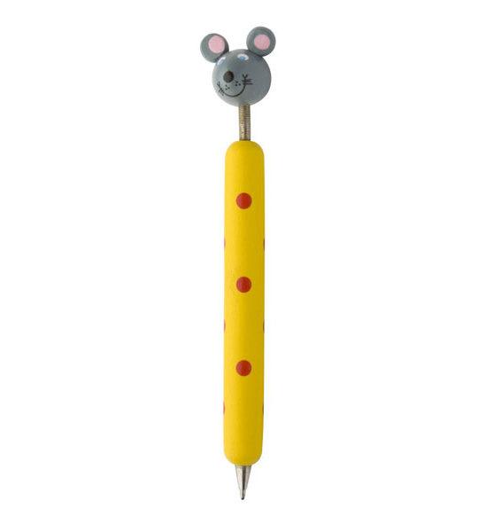penna in legno topo