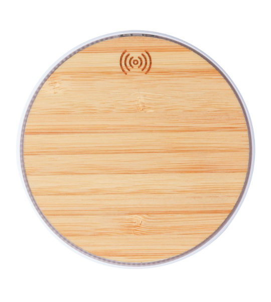 caricatore in bamboo wireless