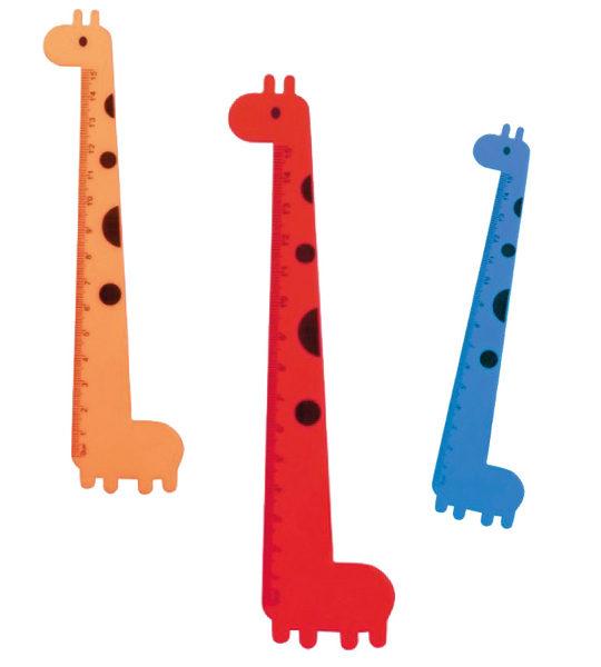 righello giraffa per bambini