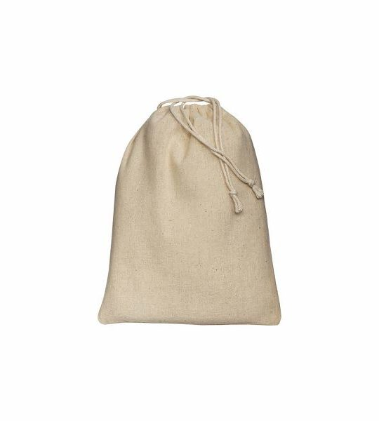 sacchetto in cotone naturale ecologico