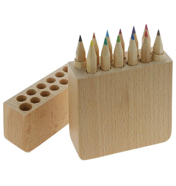set matite in legno