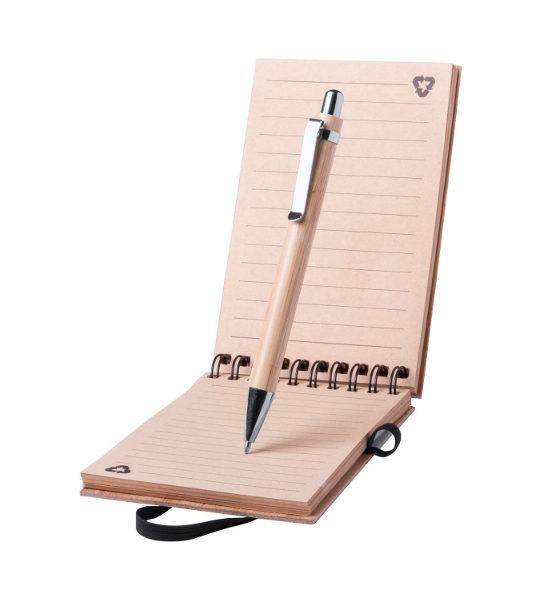 quaderno+penna ecologici