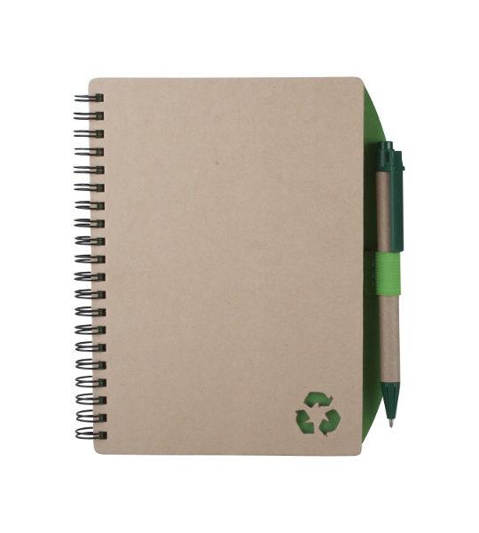 taccuino in carta riciclata