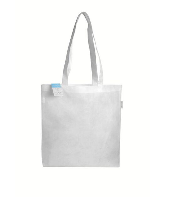 shopper in plastica riciclata
