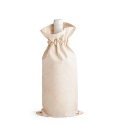 sacchetto in cotone portabottiglie
