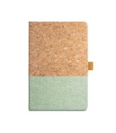 quaderno ecologico sughero e lino