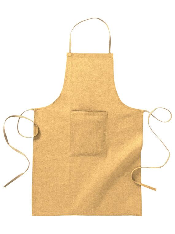 grembiule cotone riciclato 100%